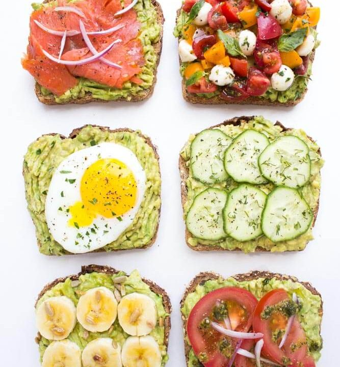 toast avocado